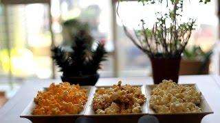 극장팝콘이 부럽지않다, 카라멜팝콘, 스위트갈릭, 체다치즈 팝콘 만들기(How to make Popcorn)