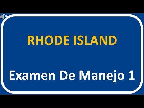 Examen De Manejo De Rhode Island 1