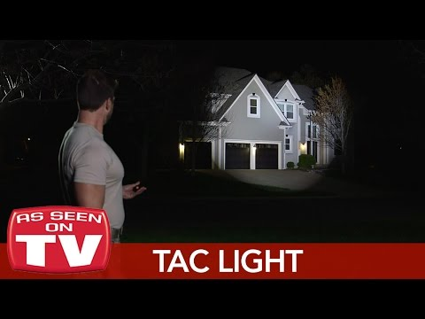 Bell & Howell Tac Light Ultimate Tactical Flashlight - As Seen On TV