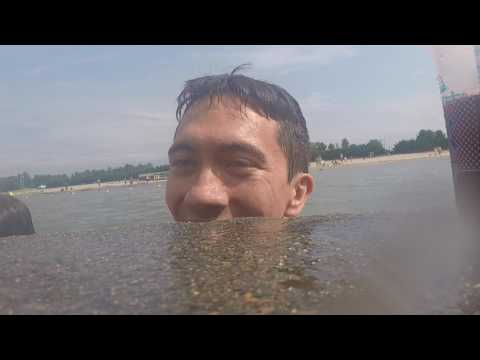 Swimming in the Sea of Japan