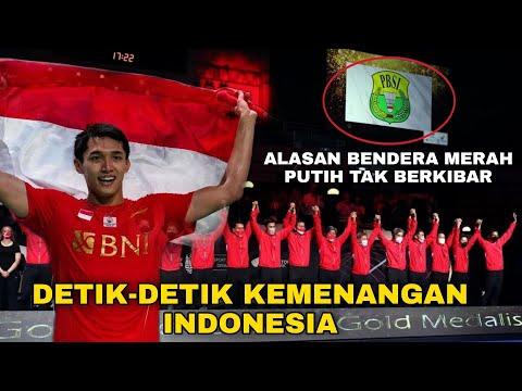 Detik-detik Kemenangan Indonesia di Thomas Cup 2021 dan Alasan Tak Bisa Kibarkan Merah Putih! thumbnail