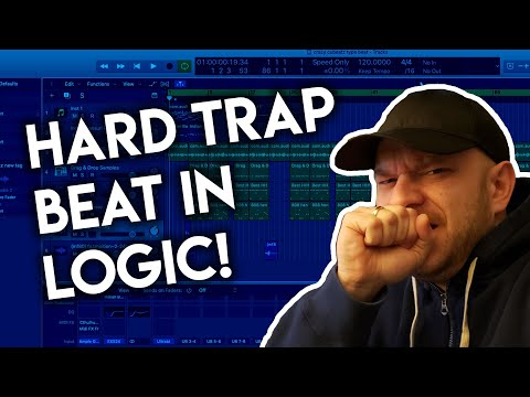 I MADE THIS HARD TRAP BEAT IN LOGIC PRO X – Logic Pro X Trap Beat Tutorial 2020