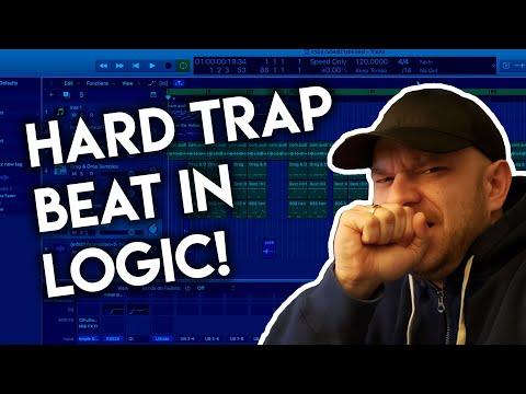 I MADE THIS HARD TRAP BEAT IN LOGIC PRO X - Logic Pro X Trap Beat Tutorial 2020