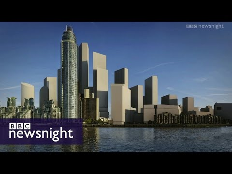 How London's skyline could dramatically change - BBC Newsnight