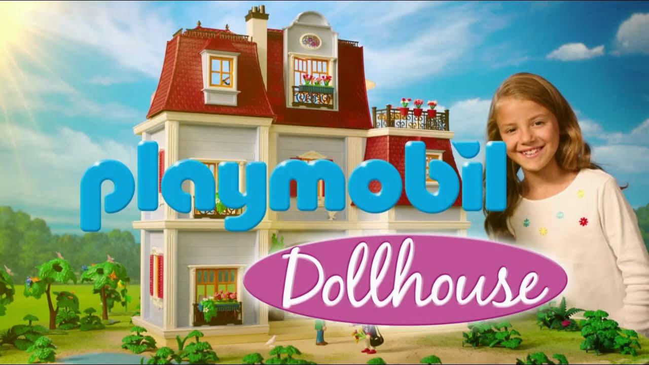 """Musique de la pub Playmobil Dollhouse """"en avant les histoires"""" """"jouer c'est la vie!""""  Mai 2021"""
