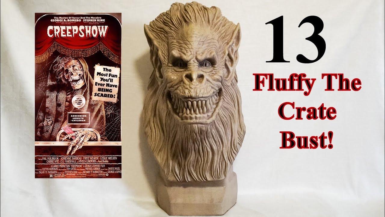 Creepshow Fluffy Busto Tom Savin el cajón Bestia Prop Trick or Treat Studios NUEVO