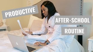 My After School Routine in Medical School How to be PRODUCTIVE After School