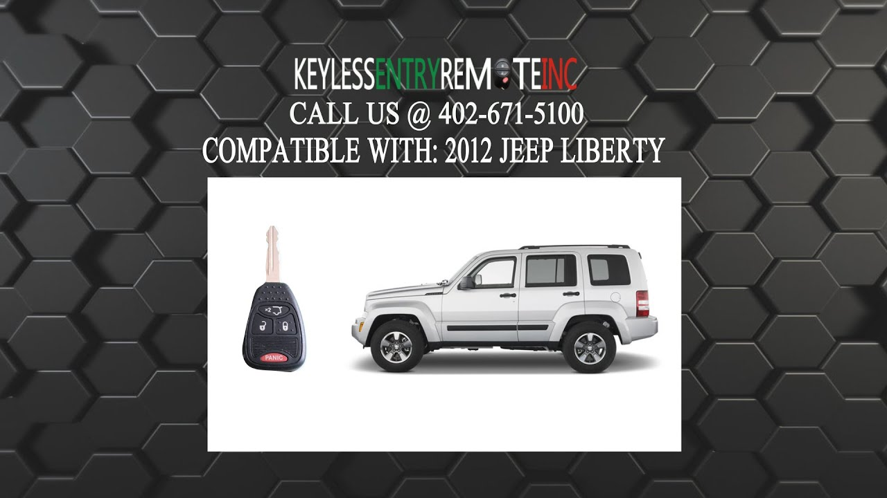 How to replace jeep liberty key fob battery 2012