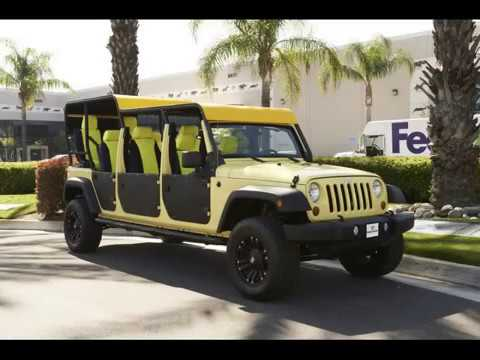 2013 Jeep Wrangler Unlimited Nine Passenger For Jeep Limo
