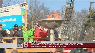 Connecticut Special Olympics Winter Games kick off