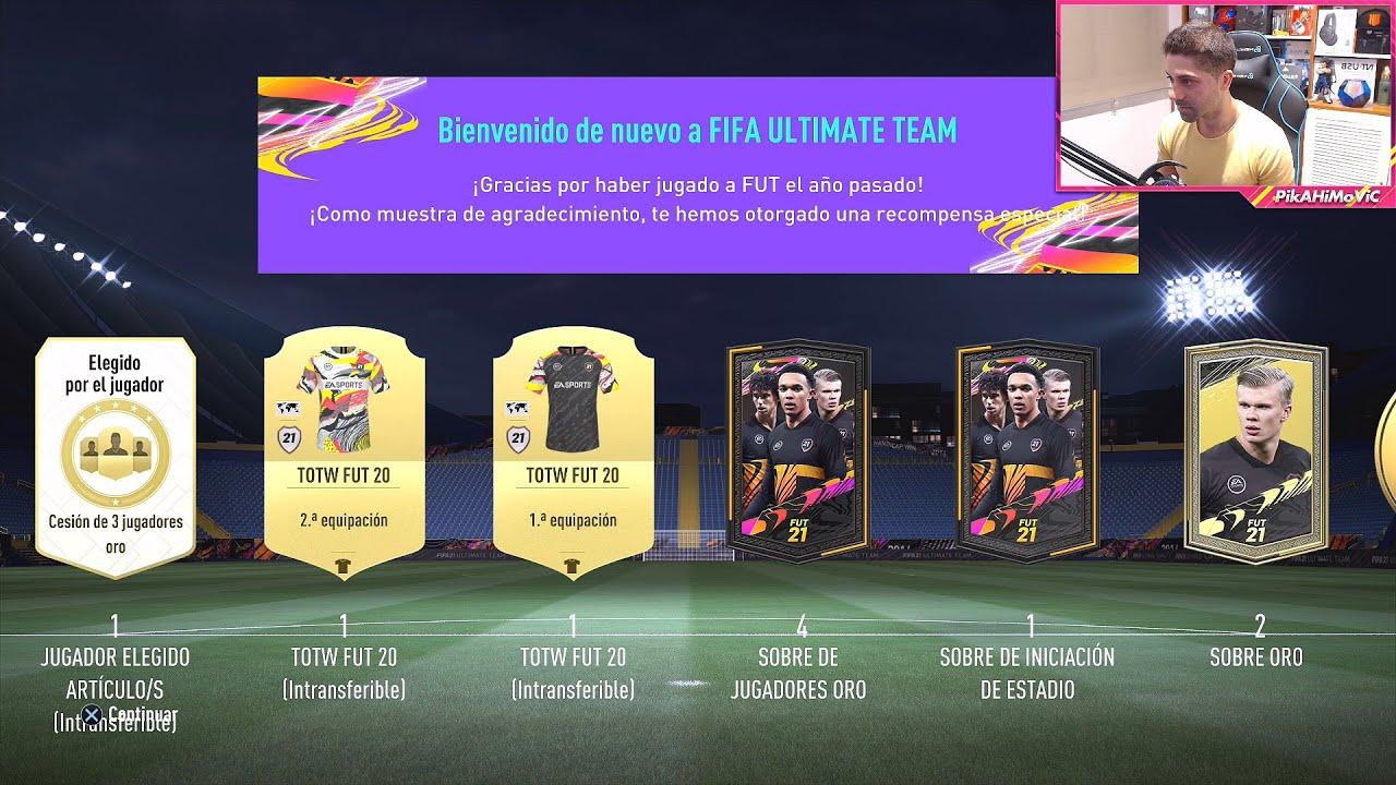 12.000 FIFA POINTS EN MI PRIMER PACK OPENING DE FIFA 21