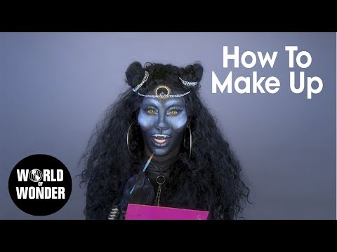 Nina Bonina Brown's Painted Chill Grill: HOW TO MAKEUP