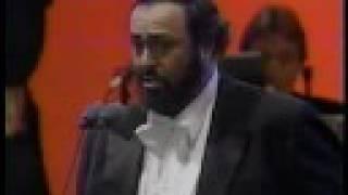 Pavarotti- La Traviata- Brindisi