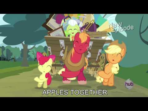 Apples to the Core [with lyrics] - My Little Pony : Friendship is Magic Song