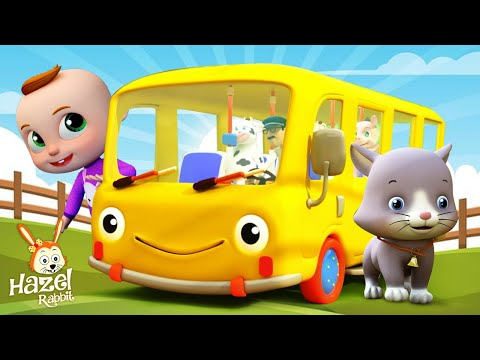 Kids Songs Cartoons: Baby Bus + Nursery Rhymes for Children | Kids Videos