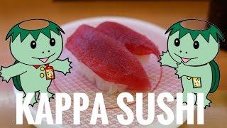 CONVEYOR BELT SUSHI 回転寿司 // Eating at Kappa Sushi!