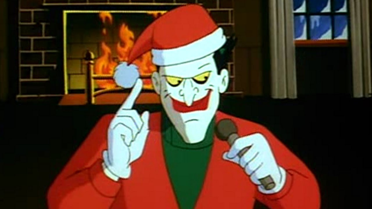 Christmas With The Joker.Batman Tas Review Christmas With The Joker