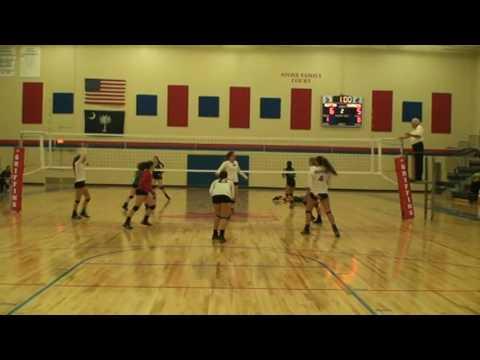 Kathleen Babb   Setter   #9 Volleyball Highlights