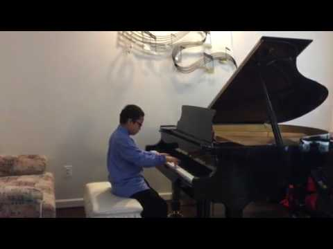 Prelude BWV 933 Bach