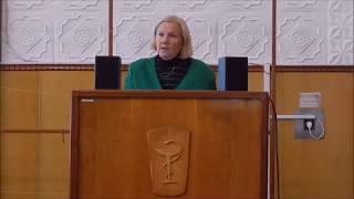 Выступление Доктора биологических наук Прокопенко Н.А.  Института геронтологии НАМН Украины