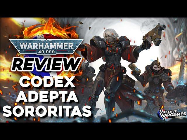 REVIEW CODEX ADEPTA SORORITAS - Warhammer 40.000 -