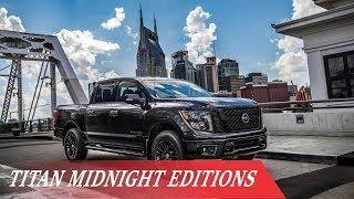 [WOW...] 2018 Nissan Titan Midnight Editions