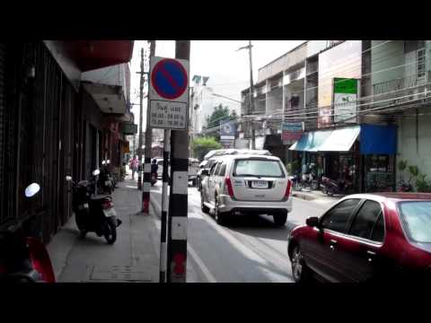 silver street in Chiang Mai Thailand