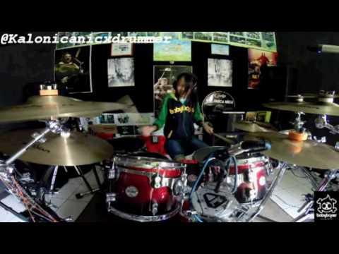 PTX - Cheerleader (OMI) Drum Cover by 11 yo Kalonica Nicx