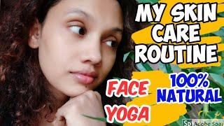 My full day skin care routine 💯%Natural Face yoga  Face packs Karimashiloverlatest karimashinew