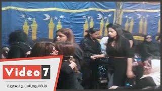 أميرة العايدى طليقة وائل نور تتجاهل تقديم العزاء لزوجته