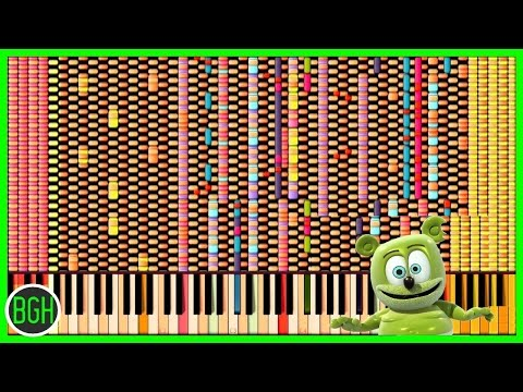 IMPOSSIBLE REMIX - The Gummy Bear Song
