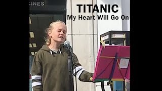 Titanic Theme Song (snippet) - My Heart Will Go On - portrait view