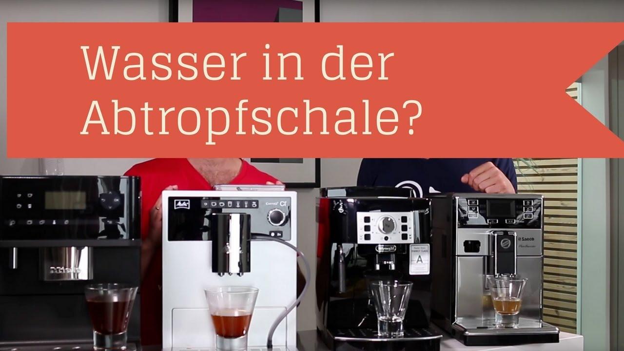 Viel Wasser in der Abtropfschale = Defekt? Kaffeevollautomat YouTube ~ 01000848_Sukkulenten Ableger In Wasser