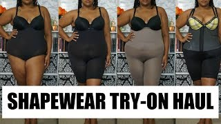 Plus Size Shapewear Try-on | My Favorites |Plus Size Fashion