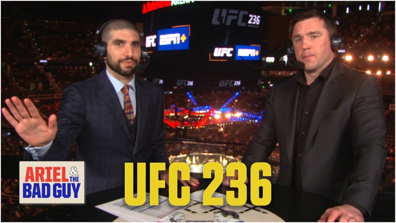 UFC 236 live results