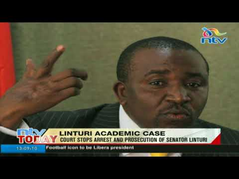 Court stops arrest and prosecution of Meru Senator Mithika Linturi