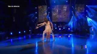 Ruth Lorenzo - Dancing In The Rain & Entrevista - ¡Mira Quién Baila! (24 - 03 - 2014)