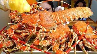 대형 크레이피쉬 2KG 3마리 Giant Crayfish 먹방 Mukbang