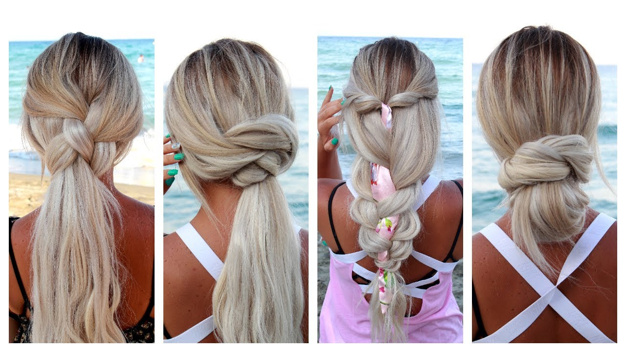 5 Easy Summer Hairstyles for long hair