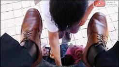 S2E92 Great shoe shine old shoes #mexico/Gran lustrada zapatos viejos #mx #ASMR #shoeshine