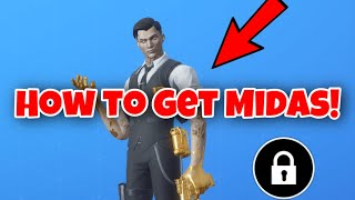 TRYING TO GET MIDAS ON FORTNITE (DID I GET IT??!)