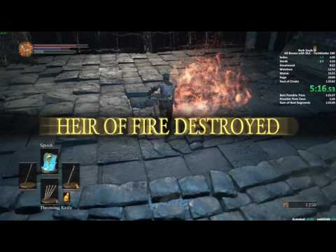 The new Dark Souls 3 speedrun world record makes you realize