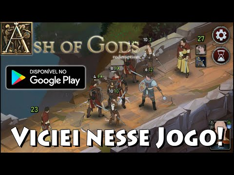 FIQUEI FÃ DESSE JOGO SUPER LEVE - ASH OF GODS TACTICS