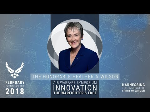 2018 Air Warfare Symposium - State of the Air Force with Heather Wilson