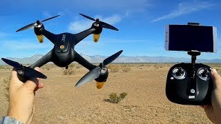 JJRC X3P Hax Plus Brushless FPV 1080p Camera Drone Flight Test Review