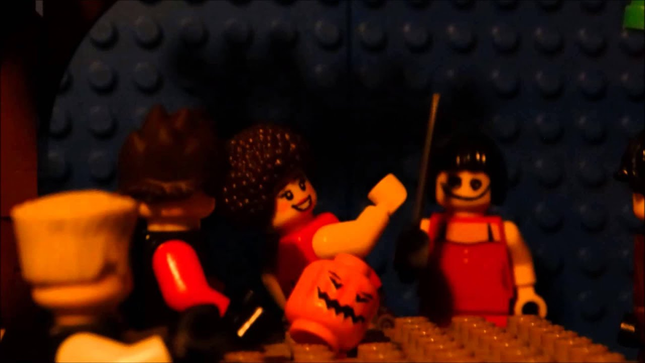ninjago - a date on halloween night - youtube