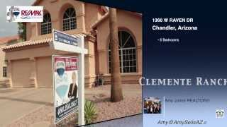 Clemente Ranch Homes Chandler, AZ - Sold by Amy Jones Group