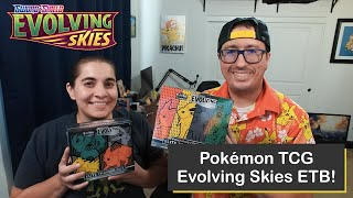 Pokémon Sword & Shield Evolving Skies Elite Trainer Box (ETB) Opening and Comparison