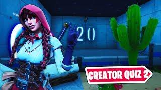 Fortnite Creator Quiz 2