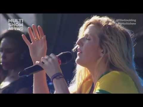 Stay Awake - Ellie Goulding Live Lollapalooza Brasil